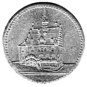 10 pfennig - Pössneck – revers