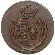 3 grosze (Principauté de Varsovie) – avers