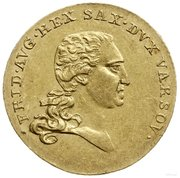 1 Dukat - Friedrich August I – avers