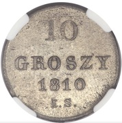 10 Groszy - Friedrich August I – revers