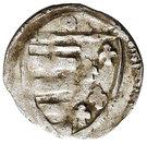 Denar - Ludwik Węgierski (Kraków mint) – revers