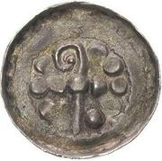 Denar krzyżowy - Bolesław II Śmiały (Kraków mint) – avers
