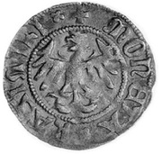 Półgrosz - Kazimierz IV Jagiellończyk (Kraków mint) – avers