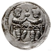 Denar - Bolesław IV Kędzierzawy (Kraków mint) – revers