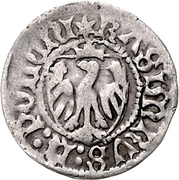 1 Schilling - Casimir IV. Jagiellon (Elbing) – avers