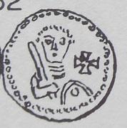 Denar - Władysław II Wygnaniec (Atelier de Cracovie) – revers
