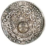 Półtalar - Zygmunt II August (Wilno mint - countermarked)) – revers