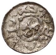 Denar - Bolesław II Śmiały (Wrocław mint) – avers