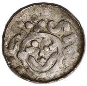 Denar - Bolesław II Śmiały (Wrocław mint) – revers