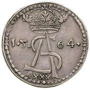 Półkopek litewski - Zygmunt II August (Wilno or Tykocin mint) – avers