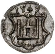 Obol litewski - Zygmunt II August (Wilno mint) – revers