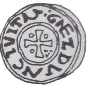 Denar - Bolesław Chrobry (unknown mint) – revers