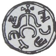 Denar - palatyn Sieciech (Kraków or Sieciechów mint) – avers