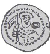 Denar - Władysław II Wygnaniec (Atelier de Cracovie) – avers