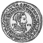 Portugał litewski - Zygmunt II August (Wilno mint) – avers