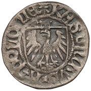 Szeląg gdański - Kazimierz IV Jagiellończyk (Gdańsk mint) – avers