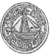 Półrosenobel gdański - Kazimierz IV Jagiellończyk (Gdańsk mint) – avers