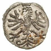 Denar koronny - Zygmunt I Stary (Kraków mint) – revers