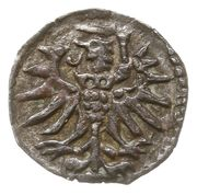 Denar- Zygmunt II August (Elbląg mint) – revers