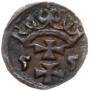 Denar gdański - Zygmunt II August (Gdańsk mint) – avers