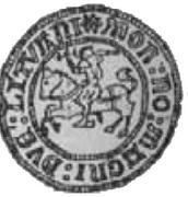 Grosz litewski - Aleksander Jagiellończyk (Wilno mint) – revers