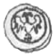 Halerz - Zygmunt I Stary as Prince of the Duchy of Głogów (Głogów mint) – avers