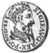 3 Dukat litewski - Zygmunt II August (Wilno mint) – avers