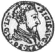 2 Dukat litewski - Zygmunt II August (Wilno mint) – avers