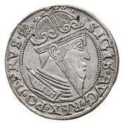 Trojak gdański - Zygmunt II August (Gdańsk mint) – avers