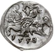 Denar litewski - Zygmunt II August (Wilno mint) – revers