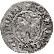 Szeląg - Kazimierz IV Jagiellończyk (Elbląg mint) – avers