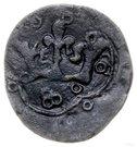 Puło ruskie / denar ruski - Władysław Opolczyk (Lwów mint) – revers