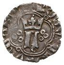 Kwartnik ruski - Ludwik Węgierski (Lwów mint) – avers