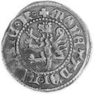 Kwartnik ruski - Kazimierz III Wielki (Lwów mint) – revers
