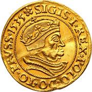 Dukat - Zygmunt I Stary (Krakow  mint) – avers