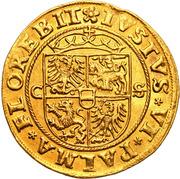 Dukat - Zygmunt I Stary (Krakow  mint) – revers