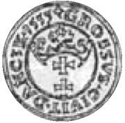 Dukat gdański - Zygmunt I Stary (Gdańsk mint) – revers
