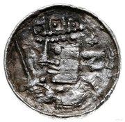 Denar - Bolesław II Śmiały (Kraków mint) – avers