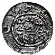 Denar - Władysław I Herman (Kraków mint) – revers