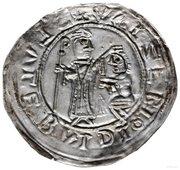 Brakteat protekcyjny - Bolesław III Krzywousty (Kraków mint) – revers