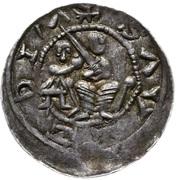 Denar - Władysław II Wygnaniec (Kraków mint) – avers