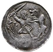Denar - Władysław II Wygnaniec (Kraków mint) – revers