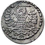 Denar - Stefan Batory (Gdańsk mint) – avers