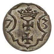 Denar - Interregnum – revers