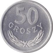 50 groszy -  revers