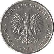 10 zlotych -  avers