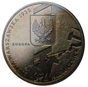 2 zlote bataille de Varsovie -  revers