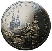 2 zlote Kalwaria Zebrzydowska -  revers
