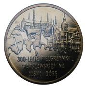 2 zlote pélerinage de Varsovie à Jasna Gora -  revers