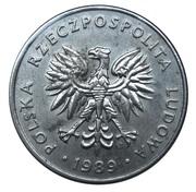 20 zlotych (petit module) -  avers